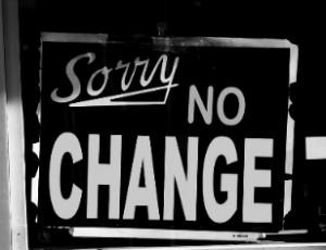 Sorry no organizational change allowed!
